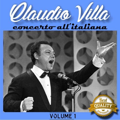 Concerto all'italiana, Vol. 1 by Claudio Villa