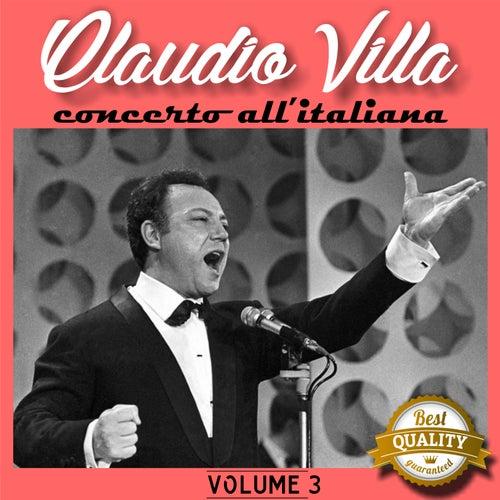 Concerto all'italiana, Vol. 3 by Claudio Villa