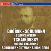Dvorak & Schumann: Cello Concertos by Various Artists