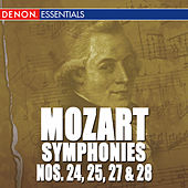 Mozart: The Symphonies - Vol. 5 - No. 24, 25, 27, 28 by Various Artists