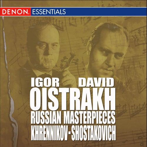 Khrennikov: Concerto for Violin & Orchestra No. 2 - Shostakovich: Concerto for Violin & Orchestra No. 2 by Various Artists