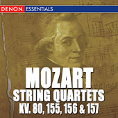 Play & Download Mozart: Quartets 1 - 4 K. 80, 155, 156 & 157 by Mozarteum Quartet Salzburg | Napster