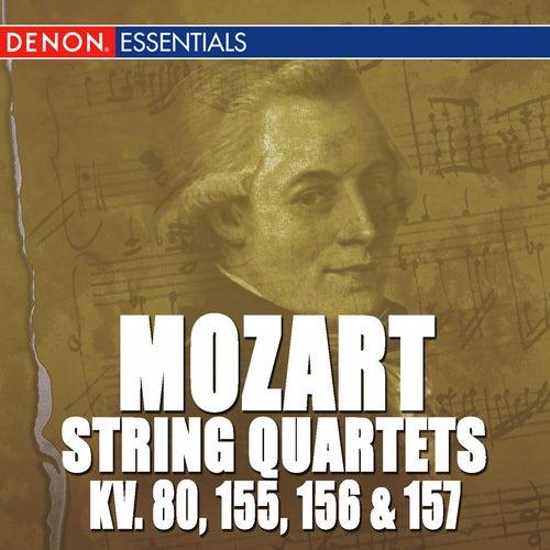 Mozart: Quartets 1 - 4 K. 80, 155, 156 & 157 by Mozarteum Quartet Salzburg