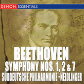 Play & Download Beethoven: Symphony Nos. 1, 2 & 7 by Suddeutsche Philharmonie | Napster