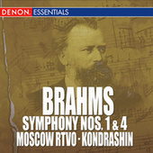 Play & Download Brahms: Symphony Nos. 1 & 4 by Moscow RTV Symphony Orchestra | Napster