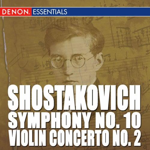 Shostakovich: Violin Concerto No. 2 - Symphony No. 10 by Kyril Kondrashin