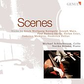 Play & Download Cello Recital: Schlechtriem, Michael - KORNGOLD, E.W. / MARX, J. / BADURA-SKODA, P. / ESSER, S. / MOMPOU, F. / DELIUS, F. by Noriko Kitano | Napster