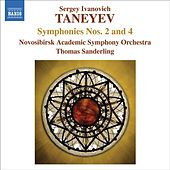 TANEYEV, S.I.: Symphonies Nos. 2 and 4 (Novosibirsk Academic Symphony, T. Sanderling) by Thomas Sanderling