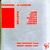 Play & Download Ragtime/Paganini: 24 Capricees by Paul Zukofsky | Napster