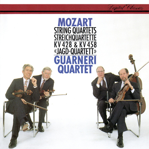Mozart: String Quartets Nos. 16 & 17 by Guarneri Quartet