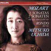 Mozart: Piano Sonatas Nos. 15 & 16; Rondo in A minor by Mitsuko Uchida