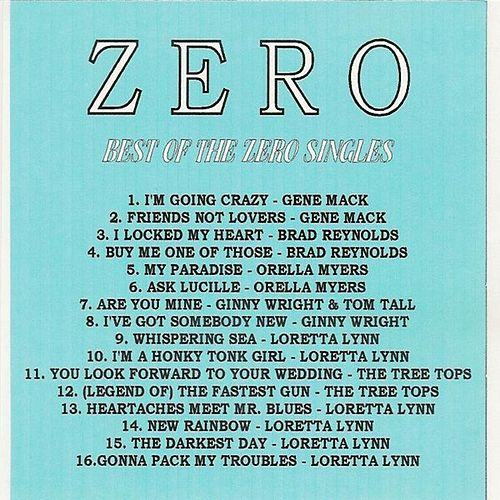Best of the Zero Singles by Various Artists