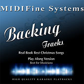 Real Book Best Christmas Songs (Play Along Version) by MIDIFine Systems
