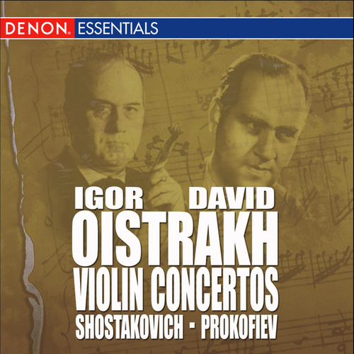 Shostakovich: Concerto for Violin & Orchestra No. 2 - Prokofiev: Concerto for Violin & Orchestra No. 1 by Various Artists
