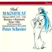 Bach, J.S.: Magnificat in D Major; Mass in A Major; Mass in F Major; Mass in G Minor; Mass in G Major von Peter Schreier