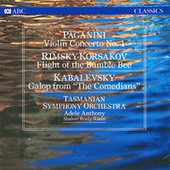 Paganini: Violin Concerto No. 1 / Rimsky-Korsakov: Flight of the Bumble-Bee / Kabalevsky: Galop from by Shalom Ronly-Riklis