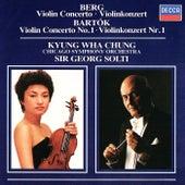 Berg: Violin Concerto / Bartók: Violin Concerto No.1 by Sir Georg Solti