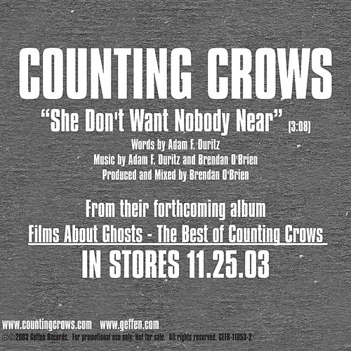Play & Download She Don't Want Nobody Near by Counting Crows | Napster