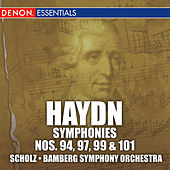 Haydn: Symphonies Nos. 94, 99, 101 & 104 by Alfred Scholz