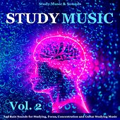 Study Music and Rain Sounds for Studying, Focus, Concentration and Guitar Studying Music, Vol. 2 by Study Music