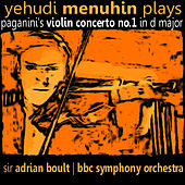 Play & Download Yehudi Menuhin plays Paganini's Violin Concerto No. 1 by Yehudi Menuhin | Napster