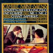 Play & Download Camille Saint-Saëns: Sonaten für Violoncello und Klavier by Carmen Piazzini Werner Thomas | Napster