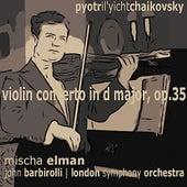 Tchaikovsky: Violin Concerto in D Major by Mischa Elman
