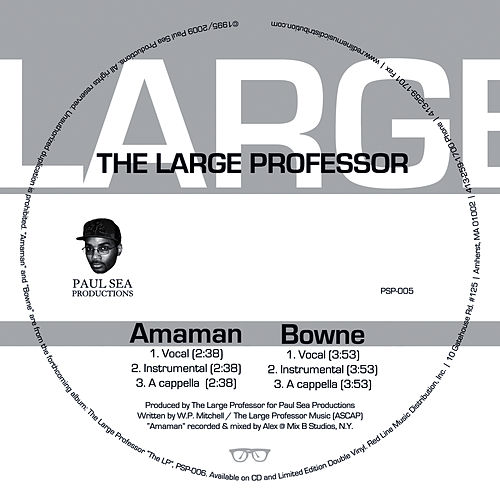 Play & Download Amaman & Bowne by Large Professor | Napster