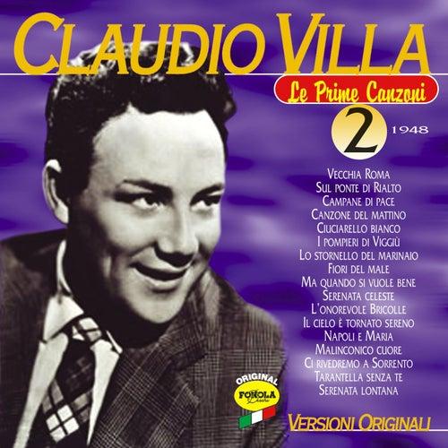 La prime canzoni vol.2 by Claudio Villa