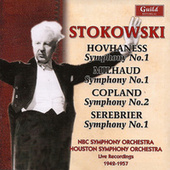 Play & Download Leopold Stokowski - Hovhaness, Milhaud, Copland, Serebrier 1942-57 by Various Artists | Napster