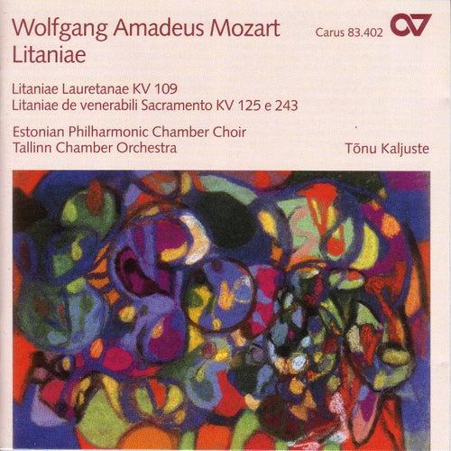MOZART, W.A.: Litaniae lauretanae / Litaniae de venerabili altaris sacramento - K. 125, 243 (Estonian Philharmonic Chamber Choir, Kaljuste) by Tonu Kaljuste