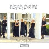Play & Download BACH, J.B.: Overtures / TELEMANN, G.P.: Overtures, TWV 55:E2, TWV 55:e10, TWV 55:F14 (Bach Concentus, Demeyere) by Ewald Demeyere | Napster