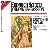SCHUTZ, H.: Johannes-Passion / Cantiones sacrae (excerpts) (Collegium Musicum Plagense, Frieberger) by Rupert Gottfried Frieberger
