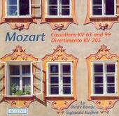 Play & Download MOZART, W.A.: Cassations - K. 63, 99 / March in D major / Divertimento in D major (La Petite Bande, Kuijken) by Sigiswald Kuijken | Napster