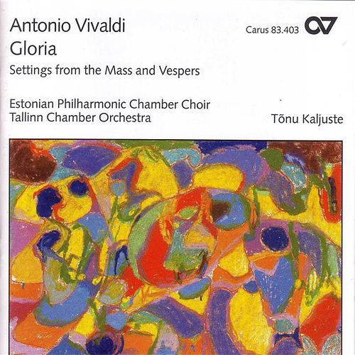 VIVALDI, A.: Kyrie / Gloria in D major / Credo / Magnificat in G minor (Estonian Philharmonic Chamber Choir, Kaljuste) by Various Artists