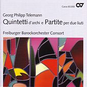 TELEMANN: String Quintet in E minor / Partie in G minor / String Sextet in G minor / Partie polonaise in B flat major (Freiburg Baroque Orchestra) by Freiburg Baroque Orchestra