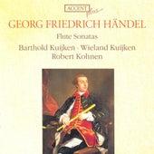 HANDEL, G.F.: Flute Sonatas, HWV 359b, 363b, 367b, 374, 375, 376, 378, 379 (Kuijken, Kohnen) by Wieland Kuijken