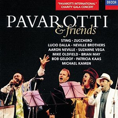 Play & Download Pavarotti & Friends by Various Artists | Napster