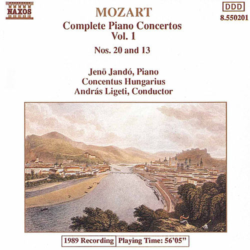 Piano Concertos Nos. 20 and 13 by Wolfgang Amadeus Mozart