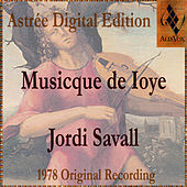 Play & Download Musicque De Ioye by Jordi Savall | Napster