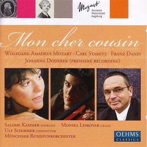 Play & Download DODERER, J.: Mon cher cousin / STAMITZ, C.: Cello Concerto No. 1 / MOZART, W.A.: Divertimento,