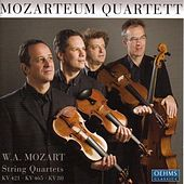 MOZART: String Quartets Nos. 1, 15 and 19 by Mozarteum Quartet
