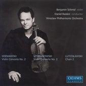WIENIAWSKI / SZYMANOWSKI: Violin Concertos / LUTOSLAWSKI: Chain 2 by Benjamin Schmid