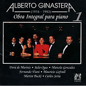 Alberto Ginastera:Obra Integral Para Piano Vol.1 by Various Artists