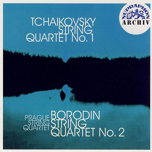 Tchaikovsky: String Quartet No. 1 in D major, Op.11, Borodin: String Quartet No. 2 in D major by Prague String Quartet