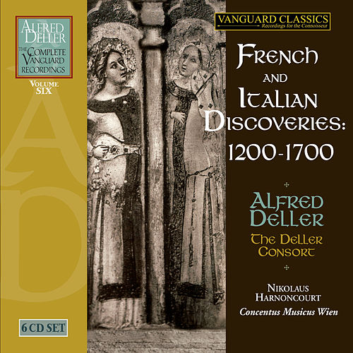 Alfred Deller: French & Italian Discoveries by Alfed Deller