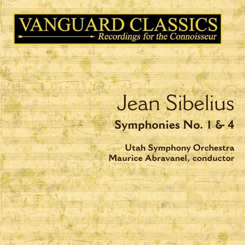Symphonies No. 1-4 by Jean Sibelius