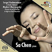 RACHMANINOV, S.: 6 Etudes-tableaux / MUSSORGSKY, M.: Pictures at an Exhibition / A Night on the Bare Mountain (Sa Chen) by Sa Chen