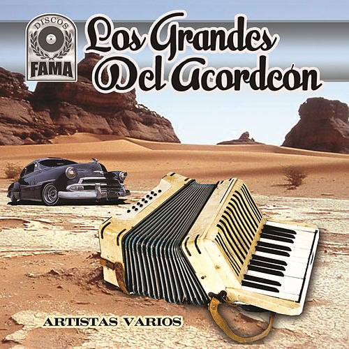 Los Grandes Del Acordeón by Various Artists
