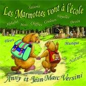 Les Marmottes Vont À L'école by Anny Versini